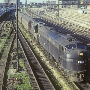 CR E-8 #4063, Chicago, IL, July, 1978, photo by Chuck Zeiler