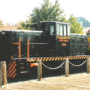 Another Sacramento Northern Switcher at Railfair 1999