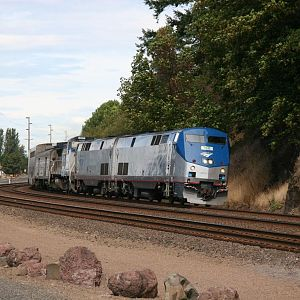 Amtrak @ Kalama, Washington