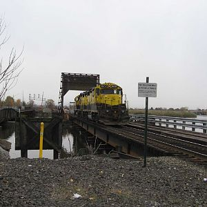 Deadheaders cross Overpeck Creek