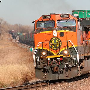 BNSF 1035 South At Longs Peak, CO