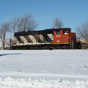 WAMX 4010 IN SNOW