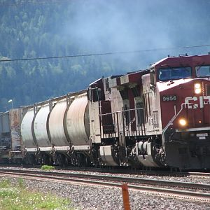 CP 9656 leads freight