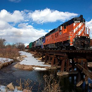 Great Western 914 On The Poudre