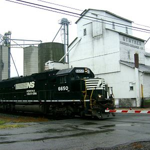 NS 6650 e/b Stryker, OH Sep 7 2007