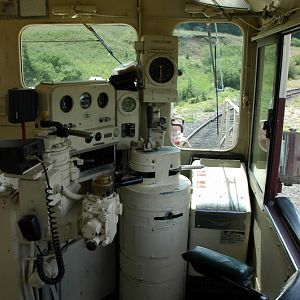 Cab of a Former C&S GP 9