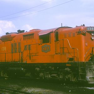 MKT #138 Kansas City, KS, Aug 15, 1965, photo by Chuck Zeiler