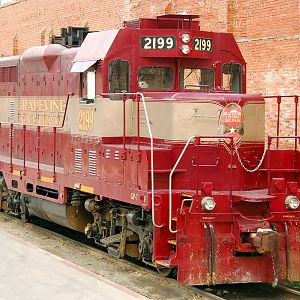 GVR 2199 Waiting at Fort Worth Stockyards