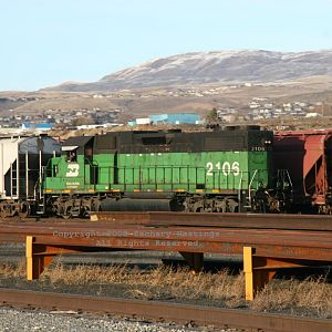 Burlington Northern at Wenatchee, Wash.
