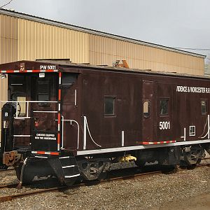 Providence and Worcester Caboose 5001