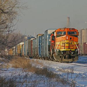 BNSF in Downriver