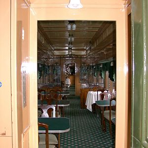 Antique Dining Car for CVRR Line