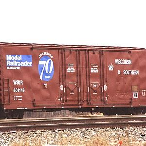 Model Railroader Boxcar