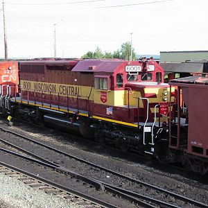 WC SD40 on CN