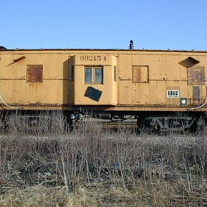 WC/ex Milwaukee Road Caboose