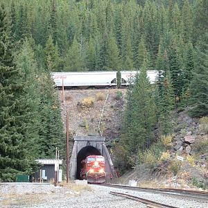 CP 9662 at the Lower Spiral Tunnel