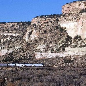 Along New Mexico's Rock Cliffs