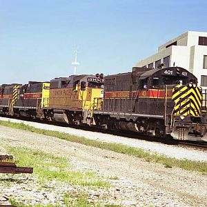 Iowa Interstate Railroad at Joliet, Illinois