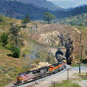 Warbonnet at Tunnel 10