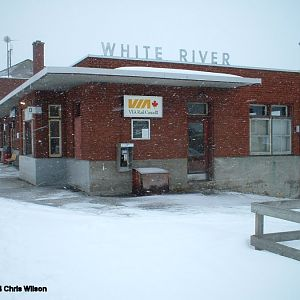 CPR/VIA White River Station