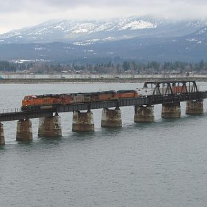 Crossing Lake Pend Oreille