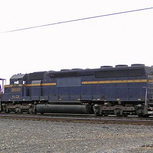 HLCX #9010 in Wishram, Washington yard.