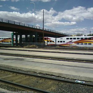 Picture of Rail Runner Train Yards
