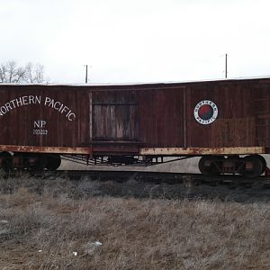 Wooden Freight Car