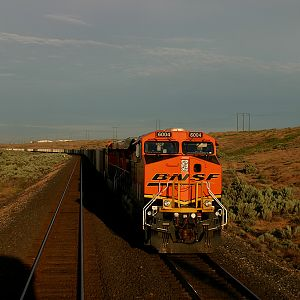 BNSF at Patterson,WA