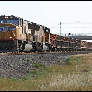 UP 4401 East at Swanson in Sacramento, Ca