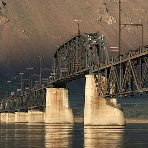 Winner - Milwaukee Road's Columbia River Bridge