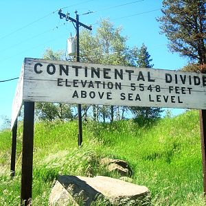 Continental Divide- East side