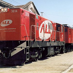 Locomotives in Mayrink 96