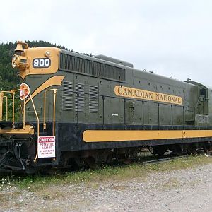 Canadian National NF110 number 900