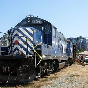 Southern Railway of Vancouver Island 124