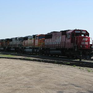 SOO/BN Brandon CP yards