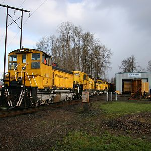 Weyerhaeuser Woods Train at the Longview Mill