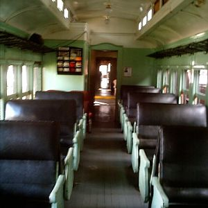 Interior of SP&S 272