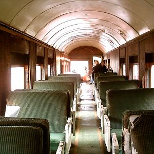 Interior of car 1590