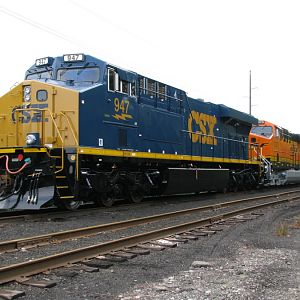 CSX, New, GE Locomotive, Erie, PA.