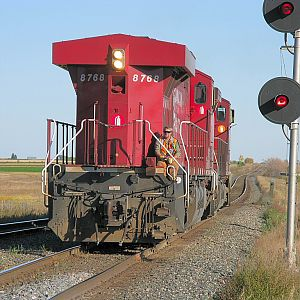 Canadian Pacific #8768 - Conductor