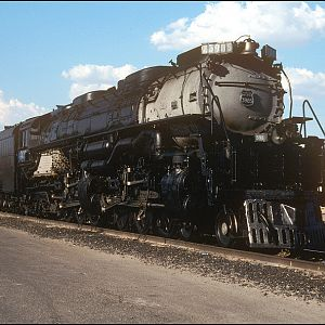 Union Pacific Challenger 3985 in Las Vegas,NV.