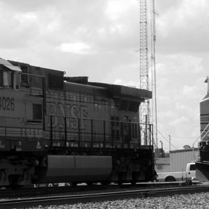 BNSF Engines, Teague, Texas