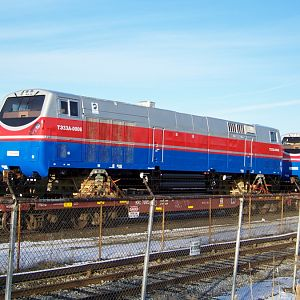 New GE Locomotive