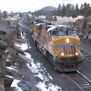 UP 5463 in Bend, OR