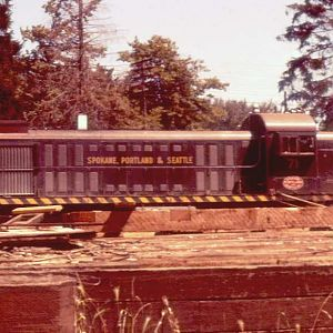 SP&S 71 at Eugene, Oregon