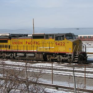 Union Pacific Number 9422