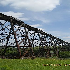 BNSF bridge at Valley City ND