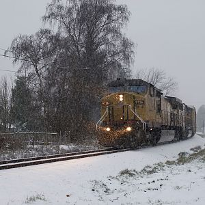 Snowy Freight