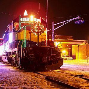 ICEy CP Holiday Train